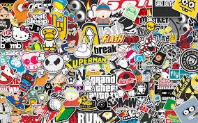 jdm honda sticker jdm wallpapers wallpaper cave