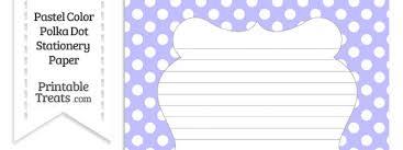 polka dot stationery pastel purple polka dot stationery paper printable treats