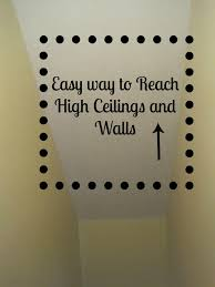 how to sand paint high ceilings and walls decoratedchaos blogspot