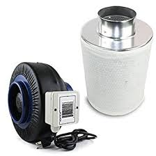 carbon filter fan combo 30 ventech vt if4 cf4 if4cf412 inline duct fan with virgin charcoal