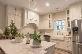 this gorgeous kitchen is homecrest cabinets laurent maple french