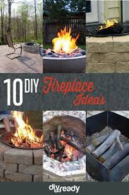 best 25 diy outdoor fireplace ideas on pinterest yards outdoor