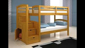 Diy Bunk Beds With Stairs Loft Bed Plans Bunk Bed Plans Step By Step How To Build A Bunk