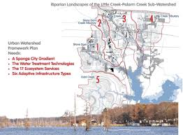 University Of Arkansas Map Conway Urban Watershed Framework Plan A Reconciliation Landscape