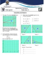 inequalities regions worksheets and answers by jonsmcest