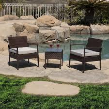 Rattan Patio Chair Rattan Patio Furniture Set With Rattan Patio Furniture Atme
