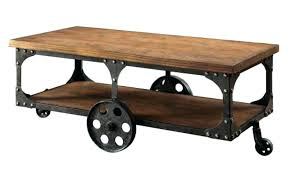 industrial coffee table with wheels tv cabinet with wheels cart with wheels cabinet on wheels stand
