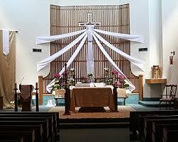 religious easter decorations environment st priscilla catholic church livonia mi