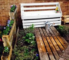 Pallet Garden Furniture Diy Wood Pallet Patio Furniture