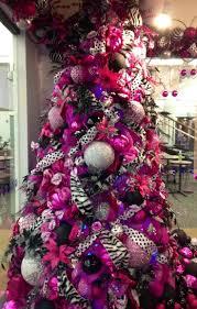 purple silver christmas tree decorating ideas stunning christmas