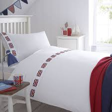British Flag Pillow Union Jack Flag Organic Bedding Collection By The Fine Cotton