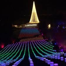 experience luminaria at thanksgiving point out and about