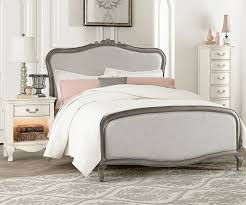 Double Bed Furniture For Kids Kensington Silver Finish Katherine Full Size Upholstered Bed 30025