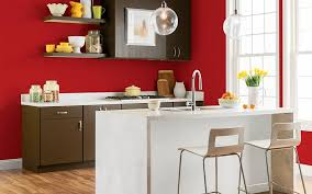 glidden candy apple accent wall color living room pinterest