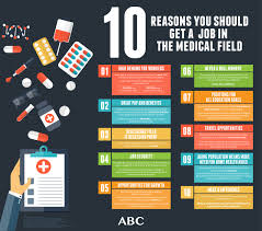 best job in the medical field what are the benefits of working in the medical field abc