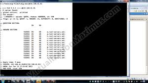 dns server answer response reply u2013 additional data section