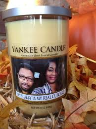 personalized candle gift idea yankee candle personalized photo candles