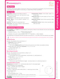 Probability Independent Events Worksheet Probability And Permutations Study Aids Probability Ck 12