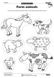 colour in farm animals kids coloring