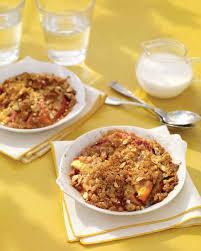 peach recipes martha stewart