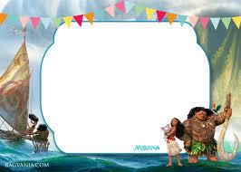 free printable moana 1st invitation template u2013 bagvania free
