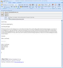 example of a email cover letter compudocs us