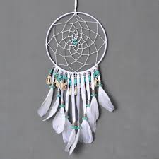 feather home decor aliexpress com buy handmade dream catcher with feathers colorful