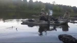 Ez Duck Blind Kayak Hunting U0026 Fishing 2014 2015 Season Youtube