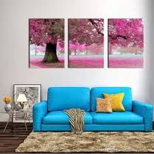 China Home Decor by Canvas Print Wall Art Painting For Home Decor Purple Flowers At