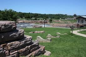Sioux Falls Map Falls Park City Of Sioux Falls