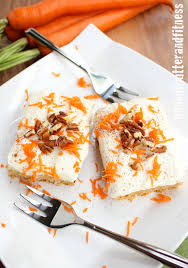 carrot cake bars peanut butter and fitness
