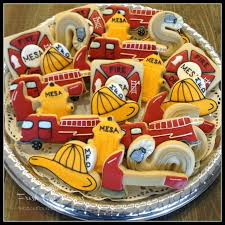 45 best cookies fire police images on pinterest iced cookies
