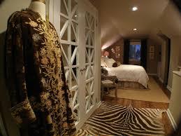 cool closet doors bedroom contemporary with beige bedding beige