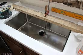Kitchen Sinks Installation by Duo Ventures Kitchen Makeover Countertop Sink Installation Within