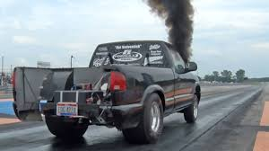diesel jeep rollin coal diesel power this amazing chevy s10 is the ultimate rollin coal