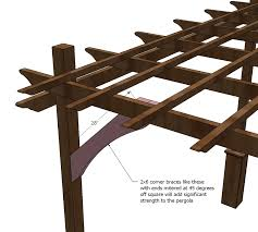 Easy Pergola Ideas by Ana White Build A Weatherly Pergola Free And Easy Diy Project