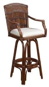 Furniture Counter Stools Ikea Ebay by Amazon Com Indoor Swivel Bamboo U0026 Rattan Bar Stool Kitchen U0026 Dining