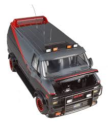 matchbox chevy van a team van