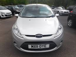 used 2011 ford fiesta titanium edition sony premium audio