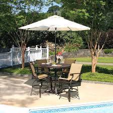 patio inspiring set with umbrella furniture clearance beauteous