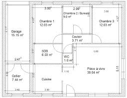 plan d une chambre plan d une maison simple 100m2 plans de newsindo co scarr co