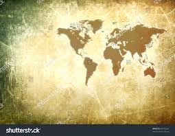 Vintage World Map by Vintage World Map Wallpaper Stock Illustration 84732325 Shutterstock