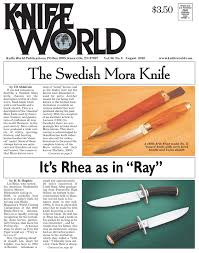 This Is The Swedish Version Famous Cutlery From Sweden The Mora Knife The Blade Blog
