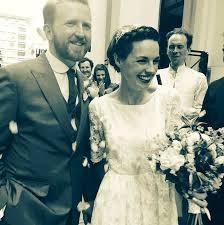 selfridges wedding dresses call the midwife s raine weds mr selfridge s tom goodman