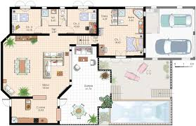 villa plan plan de villa recherche plan de maison