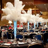 ostrich feather centerpieces feather centerpieces delicate feather centerpieces in wholesale