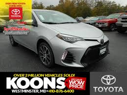 toyota car information koons westminster toyota vehicles for sale in westminster md 21157