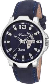 Britex Stainless by Britex Bt6192 Day And Date Functioning Watch For Men Buy