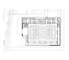 Stadium Floor Plans Sports Center In Neudorf Atelier Zündel Cristea Ground Floor