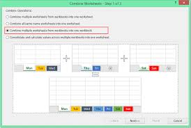 quickly merge combine worksheets or workbooks into one workbook